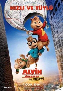 Alvin ve Sincaplar 4: Yol Macerası Türkçe Dublaj izle
